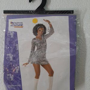 CALIFORNIA COSTUME GO-GO COSTUME SIZE LARGE